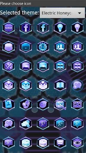 Ultimate Honeycomb GO Launcher Theme 1.21
