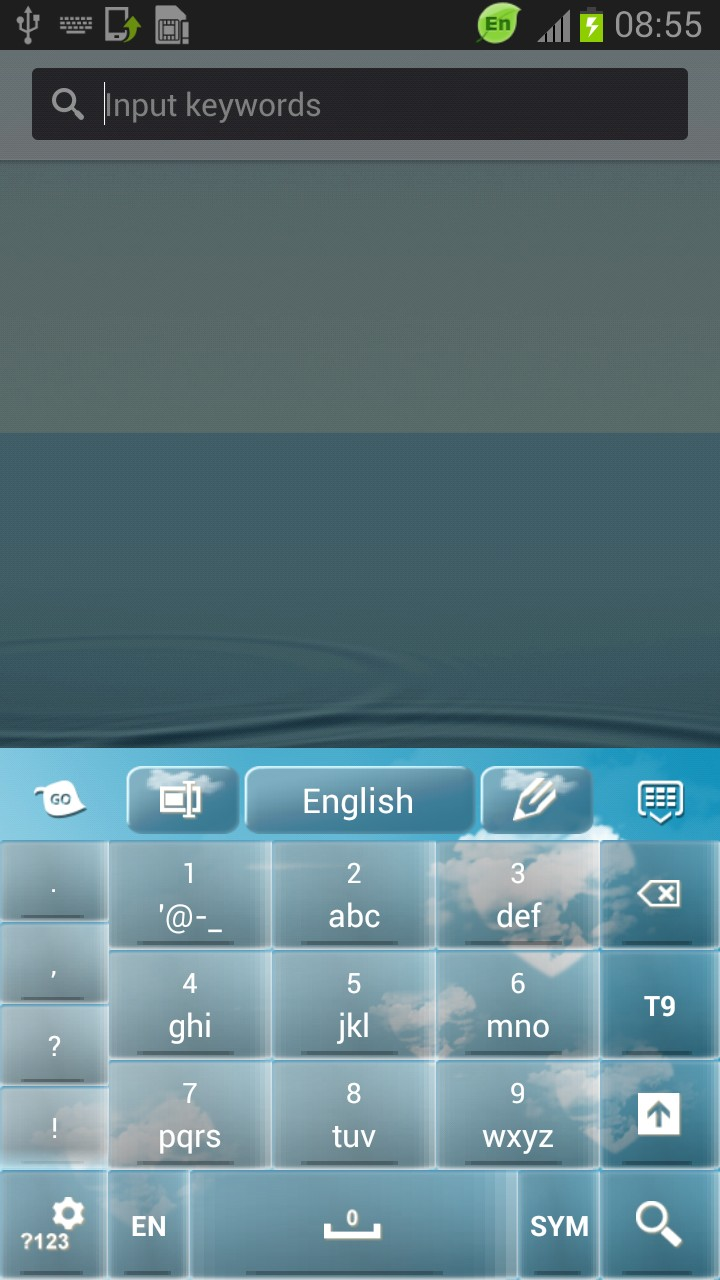 Sky Lovely Keyboard