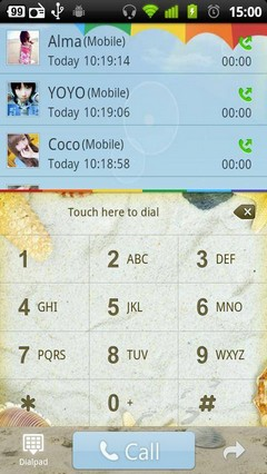 Beach GO Contacts Theme 3.0.0
