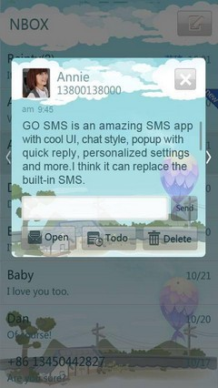 Countryside GO SMS Theme 1.0
