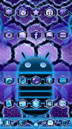 Ultimate Honeycomb GO Launcher Theme 1.21
