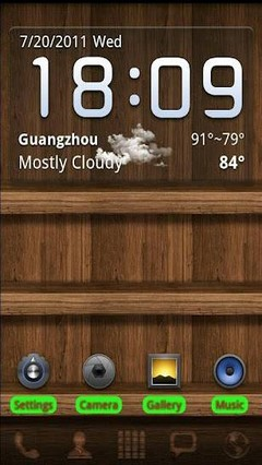 Wood GO Launcher EX Theme 1.5