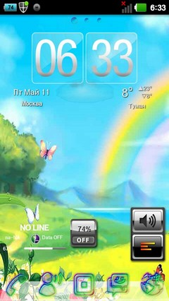 Cheerful Life golauncher theme 1.5
