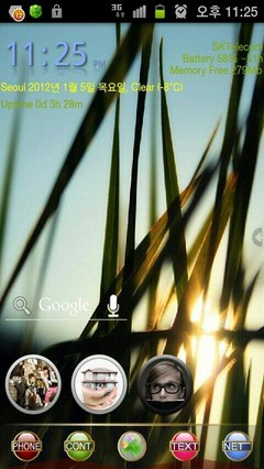 GO Launcher EX Gold Theme