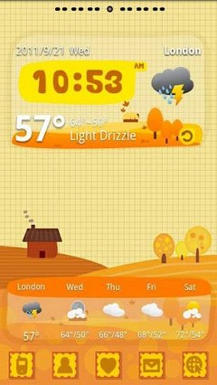 Autumn Theme GO Launcher EX