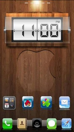 iPhone 4s theme 5 theme Go EX