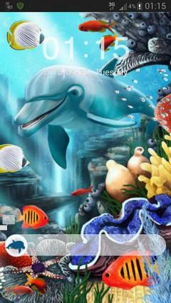 GO Locker Theme water fish