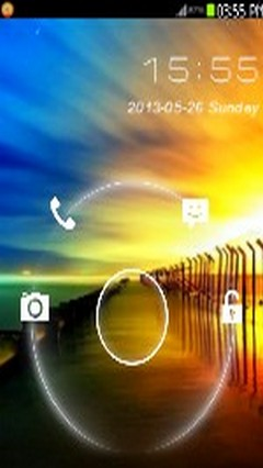 Beautiful Sun Set Go Locker Theme