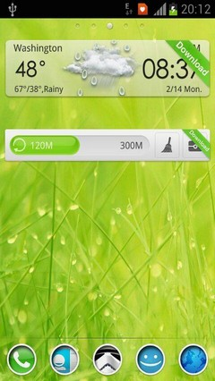Wet Grass by Im Venky