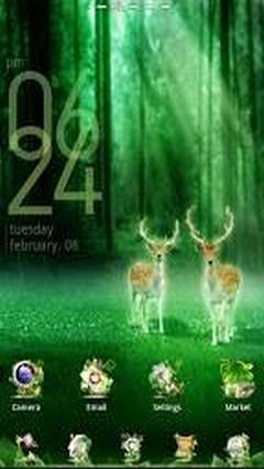 Forest GO LuancherEX Theme