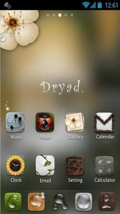 Dryad GO Launcher EX Theme v1.2