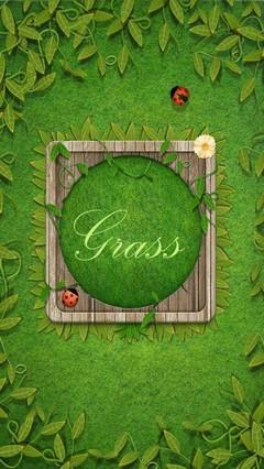 Grass GO Locker Theme
