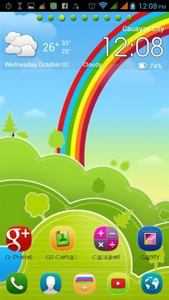 Rainbow Go Launcher