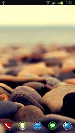 Ocean Stones HD theme by Im Venky