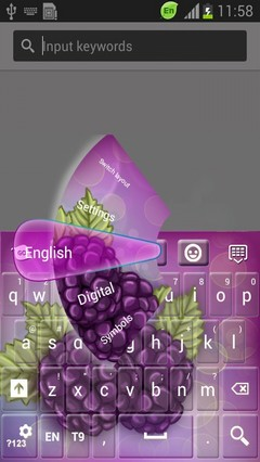 Blackberries Keyboard-release
