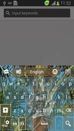 Coconut Palm Keyboard-release