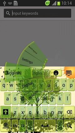 Green Spring Keyboard-release