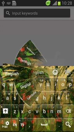 Tropical Jungle Keyboard-release