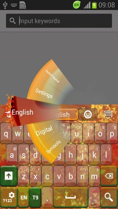 Autumn Colors Keyboard-release