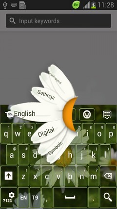 Summer Flowers Keyboard-release