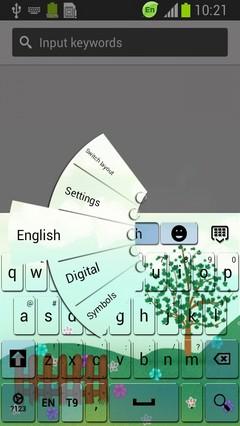 Delicate Garden Keyboard