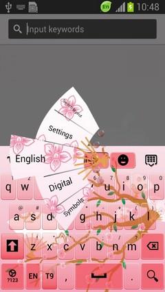 Japanese Fan Keyboard