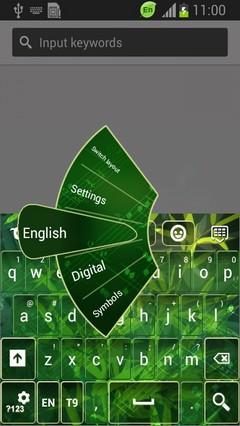 Green Symphony Keyboard