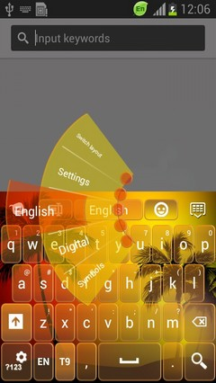 Hot Summer Keyboard