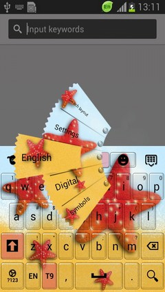 Starfish Keyboard