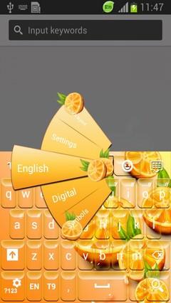 Oranges Keyboard