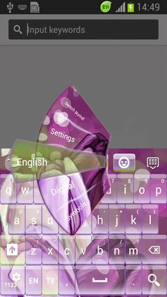 Easter Tulips Keyboard