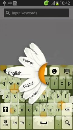Chamomile Flower Keyboard
