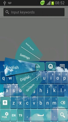 Keyboard for Galaxy S4 Active