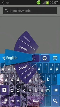 Color Keyboard for Galaxy S3