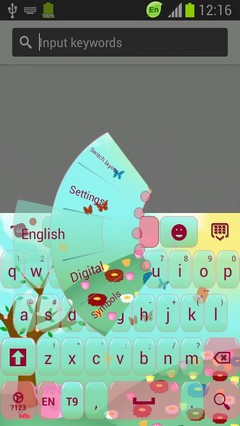Welcome Spring Keyboard