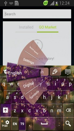 Beautiful Lilac Keyboard