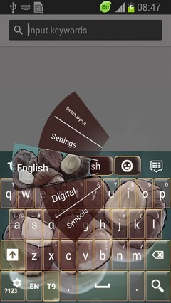 Chestnuts Keyboard