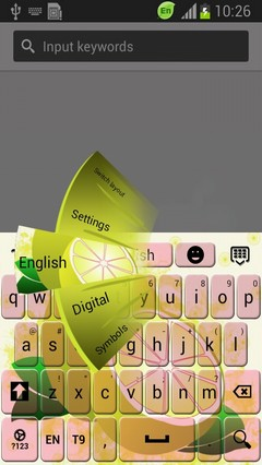 Lemon Keyboard