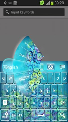 Underwater Keyboard