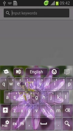 Passionflower Keyboard