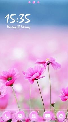 Pink Flowers 373