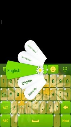 Daisy Keyboard Theme