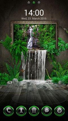 Surreal Waterfall 401