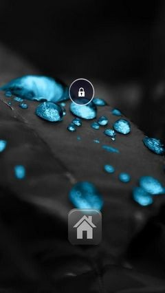 Chemical Drops Lock Screen