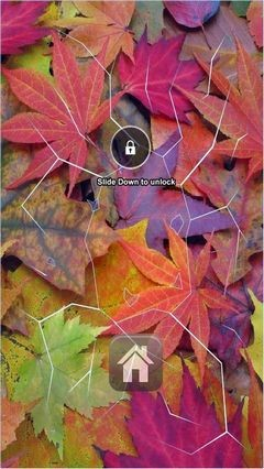 Autumn Leafs Lock Screen