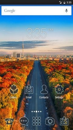 Berlin autumn Nova Launcher Theme