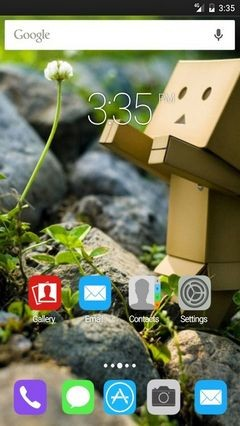 Little nature GO Launcher Theme