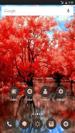 As in fairy tales Apex Launcher Theme