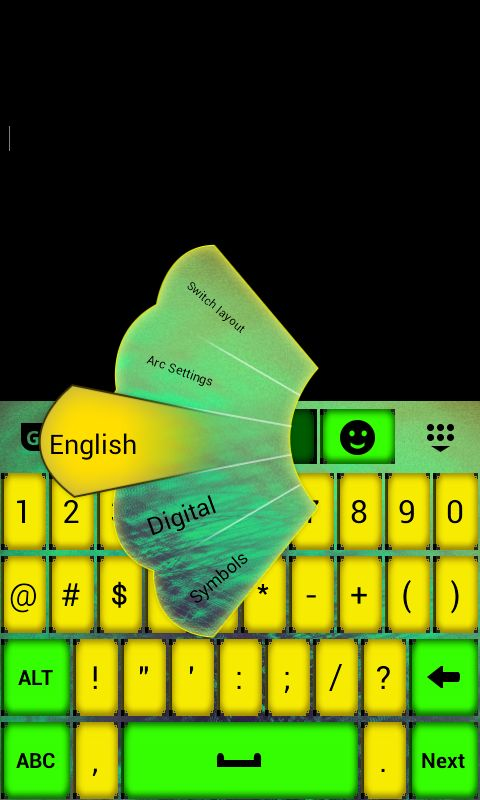 Color Keypad App