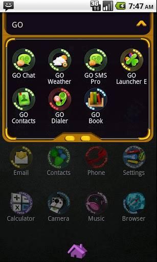 3D Space GO Launcher EX Theme 1.6